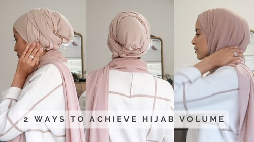 Volume Hijab Tutorial with Underscarf | simplyjaserah - YouTube