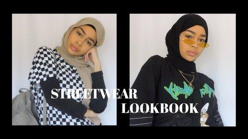 STREETWEAR LOOKBOOK | hijabi streetwear - YouTube