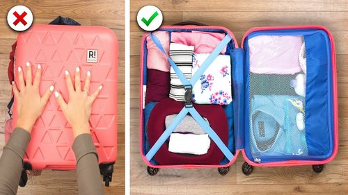 Pack Up and Go With These 15 Travel Hacks and More DIY Ideas by Crafty Panda - YouTube