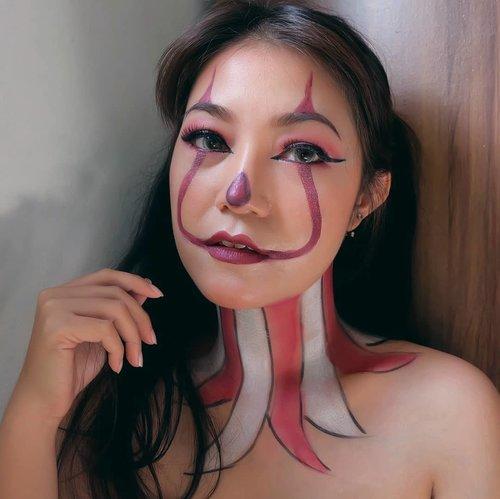 H-3 menuju #Halloween 🎃 . #anitamayaadotcom #beauty #makeup #halloweenmakeup #happyhalloween #wakeupandmakeup #beautyblogger #bloggerslife #ClozetteID