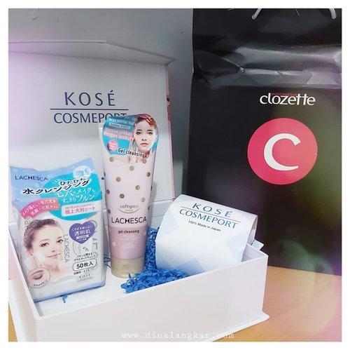 Yang kemaren penasaran sama 2 produk cleansing nya @kosecosmeportid ini, Yuk ahh udah aku tulis di blog review nya..⠀.⠀#clozetteid #clozette #kose