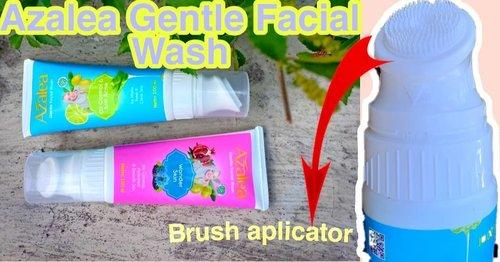 ☘️REVIEW AZALEA GENTLE FACIAL WASH + BRUSH APLIKATOR.Sudah tahu belum kalau @azaleabeautyhijab punya produk baru pembersih wajah,yaitu Azalea Gentle Facial Wash,yang dibagi jadi 2 ;.1. Azalea Gentle Facial Wash Wonder Skin (warna pink) 2. Azalea Gentle Facial Wash Oil Control & Anti Acne (warna biru).Bedanya apa? bedanya kalau yang pink lebih glowing,dan kalau biru untuk wajah berminyak dan berjerawat.Yang bikin facial wash ini spesial yaitu ada APLIKATOR BRUSH, jadi aplikator brush bisa kita pakai untuk membersihkan wajah lebih bersih karena selain lebih mudah menjangkau kotoran terdalam,juga bisa bikin wajah kita relax seperti dipijat.😍😘.Selengkapnya cek di blog n YT akuBlog ⬇️https://strawberrymisire.wordpress.com/2019/12/05/review-azalea-gentle-facial-wash-with-brush-aplicator/.YT ⬇️https://youtu.be/cSXyxEUbSMk.#azalea #azaleabeautyhijab #reviewazalea #reviewazaleafacialwash #reviewazaleagentlefacialwash #azaleaprodukbaru #azaleafacialwash #azaleagentlefacialwash #beautiesquad #clozetteid #kbbvfeatured #beautyreviewindonesia #beautychannelidtrend#setterspace