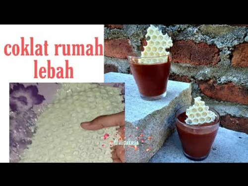 Tutorial White choco honeycomb (coklat bentuk sarang lebah) - YouTube