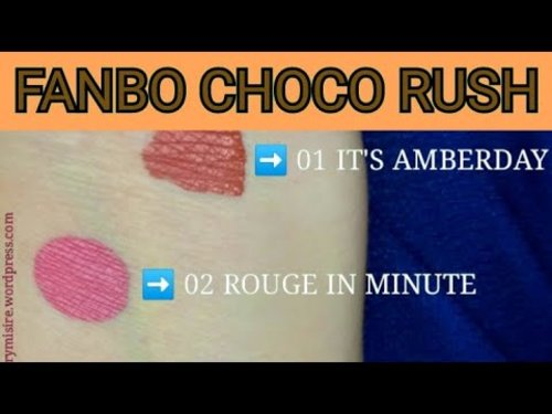 REVIEW & UNBOXING FANBO CHOCO RUSH LIP CREAM - YouTube