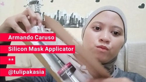 REVIEW ARMANDO CARUSO SILICON MASK APPLICATOR.👉Swipe dulu buat liat video reviewnya ya324 Mask Applicator ini merupakan kuas untuk masker yang terbuat dari bahan silikon,desainnya yang melengkung memudahkan kita untuk aplikasi masker diwajah,dan hasilnya lebih halus kalo pake kuas silikon gini.super laff banget 💕.⬇️⬇️ Review lengkap cek di blog n YT aku ya ⬇️⬇️.https://strawberrymisire.wordpress.com/2019/04/01/review-armando-caruso-silicon-mask-applicator/https://youtu.be/qfRx92fKyr0.#bloggirlsid#beautybloggerindonesia#indobeautysquad#beautiesquad#beautygoers#indobeautygram#indobeautyblogger#beautilosophy#itsbeautycommunity#beautycollab#beautyranger#kbbvacb#bandungbeautyvlogger#beautyinfluencercommunity#beautychannelid#beautychannelidtrend#girlscreation#clozetteid#beautyreviewindonesia#beautyinfluenzasurabaya#mbbvcommunity