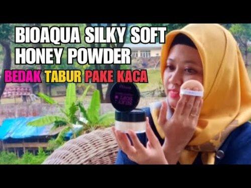 Review BIOAQUA SILKY SOFT HONEY POWDER - YouTube