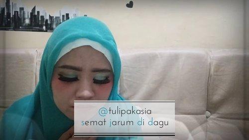 Tutorial Hijab Cosplay Hatsune Miku - YouTube #clozetteid