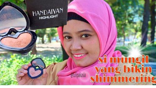 REVIEW HANDAIYAN HIGHLIGHT (buat eyeshadow bisa) - YouTube