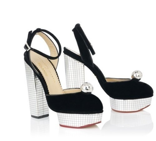 My current wishlist. This Charlotte Olympia