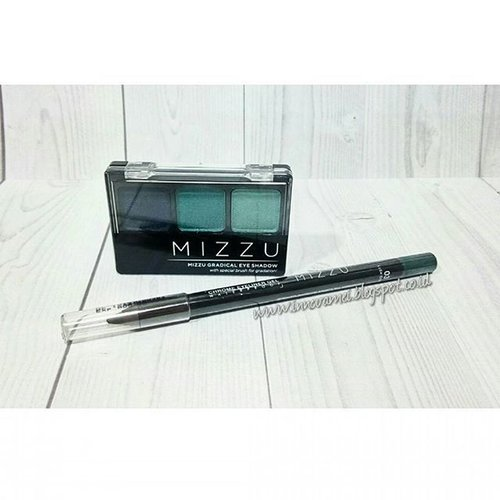 Budget Alert! When black and brown is too mainstream, I tried tosca and green eye make up.  And with super affordable price (under IDR 50.000 or less than $3.5), this product is worth to try, especially for make up beginner, because the quality also good.  Read my review about these Mizzu Cosmetics products  http://innovamei.blogspot.co.id/2015/09/review-eotd-mizzu-eyeshadow-turqoise.html  Or just simply click link on my bio  Kindly visit and leave comment, I hope you enjoy my review  #clozetteid #productreview #productreviews #dupe #budgetbeauty #eyeshadow #eyeliner #beautyblogger #bloggers #indonesianbeautyblogger #bloggersays #endorse #idbeautyblogger #ibb #bblogger #bbloggerid #indonesia #indonesianbrand