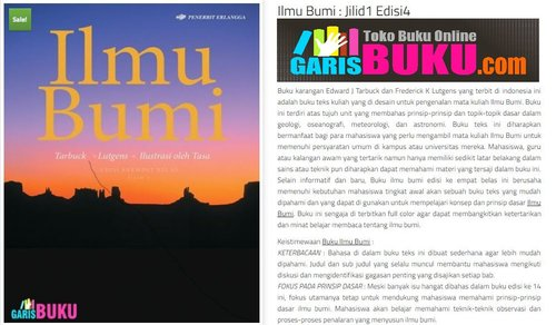 Ilmu Bumi Jilid 1 Edisi 4 • Buku Ilmu Bumi by Edward J.Tarbuck & Frederick K.Lutgens ISBN 9786024344344 • Jual Buku Ilmu Bumi Edisi KeEmpat Jilid 1 • Download eBook Ilmu Bumi PDF  //  https://www.clozette.co.id/community/browse/74388838072a413f9a2f3b1e3c888d0e/BukuPDF  //  Ilmu Bumi Jilid 1 Edisi 4 • Buku Ilmu Bumi by Edward J.Tarbuck & Frederick K.Lutgens ISBN 9786024344344 • Jual Buku Ilmu Bumi Edisi KeEmpat Jilid 1 • Download eBook Ilmu Bumi PDF  //  http://garisbuku.com/shop/ilmu-bumi-jilid1-edisi4/