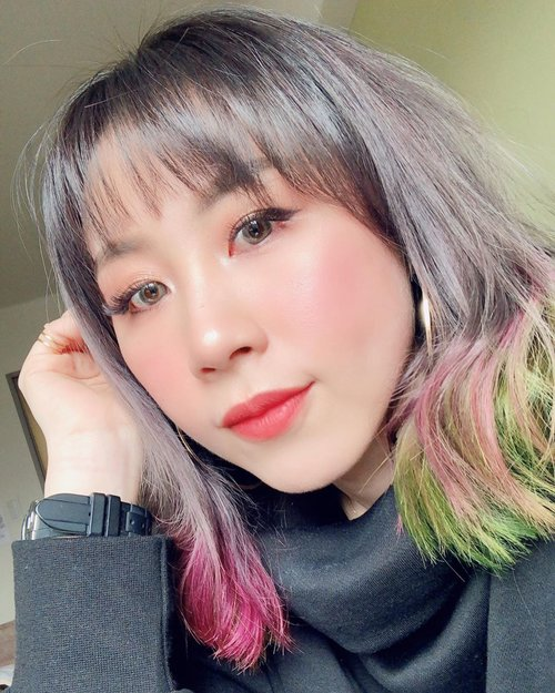 New hair, who dis? 💇🏻‍♀️ @katherineseakx99 @99percenthairstudio Thanks @yanling421 for the bling bling nails ✨Wearing my long lasting lip cream from @vyvydstudio Lip Flash Matte / Vinylhttp://hicharis.net/ladiesjournal/KmO#vyvydstudio #Lipflashmatte #lipstick #lip  #CHARIS #hicharis@hicharis_official @charis_celeb #ladies_journal #fukuoka #japan #winter #haircolor #selfie #clozetteid #clozette #asian #indonesian