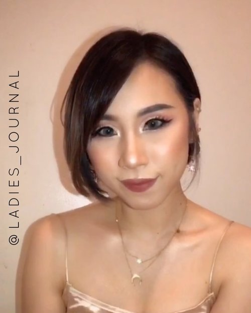 So long never did makeup video. Here's my first video with short hair from hiatus 😂  Hope you guys enjoy it!  #ladies_journal #makeup #makeuptutorial #makeuplooks #makeupartist #makeuptransformation #beauty #indobeautygram #indovidgram #indobeautyvlogger #clozette #clozetteid #aprilux #apriluxbabes #mua #indovidgram