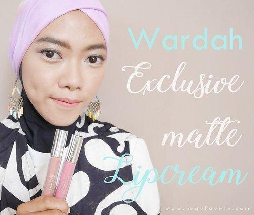 Happy morniiing ~  Punya lipcream sedikit tapi pengen coba mix and match supaya ga bosen warnanya itu lagi itu lagi? Yuk intip review dan caranya di post terbaru ku tentang Wardah Exclusive Matte Lipcream di www.beaufavele.com 💕  Kamu juga bisa langsung klik linknya di bio ku. 😉 . . . . #clozetteid #clozettedaily #beauty #review #beautyreview #blogger #bloggerindo #bloggerindonesia #indonesianblogger #indobeautyblogger #indonesianbeautyblogger #indobeautygram #ggrep #wardah #wardahbeauty #wardahlipcream #beaufavele #beaufavelebydian #lipcream #makeupaddict #makeup