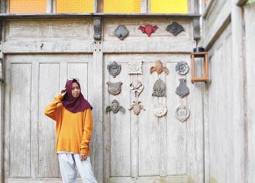 Casy kinda day.......#Clozetteid #clozettedaily #life #lifestyle #bloggerlife #blogger #lifestyleblogger #travel #travelblogger #travelingwithhijab #hijabtraveller #lumix #lumix_id #lumixindonesia #takenwithlumix #bloggerindo #libertytodiscover #indonesianfashionblogger #fashion #earthtone #modest #modeststyle #fashionblogger #bloggerindonesia #imatpesona #casual