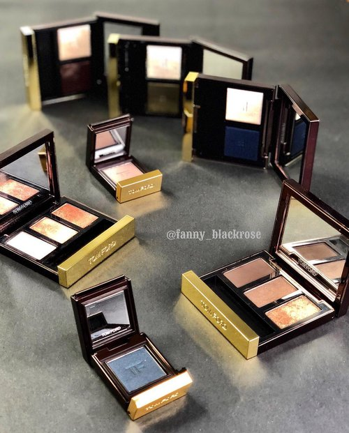 #TomfordFriday #Tomfordeveryday 😊💖✨ Planning my #weekend with these beauties 💖✨ Still not sure if I want more single shadow 😅 I like to have options with my #eyeshadow whatever it takes 😜 sone #limitededition from previous seasons.  I think the trios is my #fave until now.  #makeup  #makeuppost  #makeuptalk  #tomfordaddict  #tomfordlover  #luxurybeauty  #tomfordbeauty  #tomfordeyeshadow  #ilovemakeup  #beautyblog  #beautyblogger  #beautyvlogger  #clozette  #clozetteid