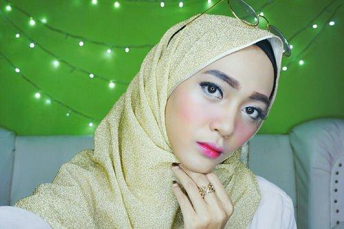 Hijab with korean make up 💋💋