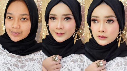 Makeup Pesta Untuk Kulit Sawo Matang ( Lokal & Drugstore Product) AYYUNAZZUYYIN - YouTube
