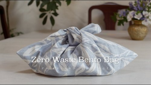 DIY - Zero Waste Bento Bag - YouTube