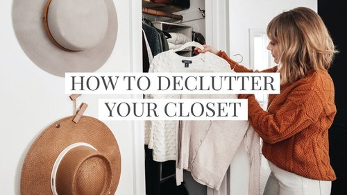 How to Declutter Your Wardrobe in 5 Steps - YouTube