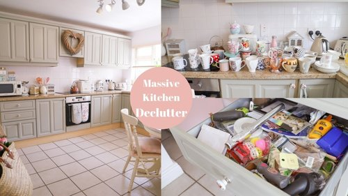 Small Kitchen Declutter and Organization - YouTube