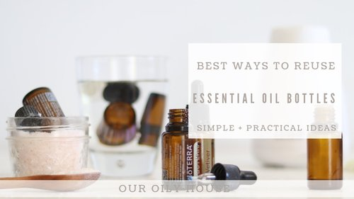 6 Practical Ways to Reuse Empty Essential Oil Bottles - YouTube