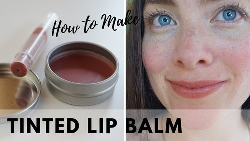 How to Make NUDE Tinted Lip Balm | DIY Natural Cosmetics - YouTube