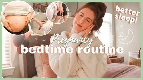 AT HOME PREGNANCY PAMPER ROUTINE! Pregnancy Insomnia Solutions! - YouTube