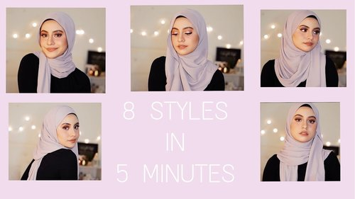 8 SIMPLE WAYS TO STYLE A SHAWL (IN 5 MINUTES ONLY) - YouTube