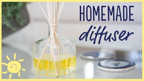 DIY | Homemade Diffuser (Only 3 Ingredients!) - YouTube