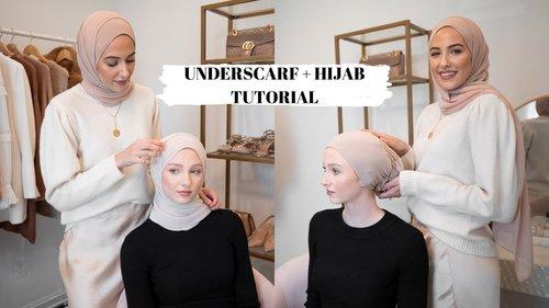 Everyday Hijab Tutorial & How I Do My Underscarf! - YouTube