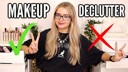 MAKEUP COLLECTION AND DECLUTTER - YouTube