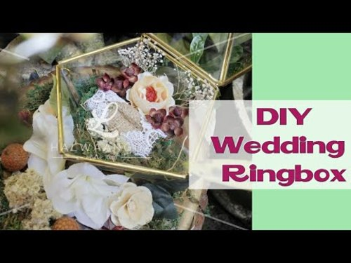 Tutorial Membuat Ringbox|| Terarium Ring Box || Rustic Ringbox - YouTube