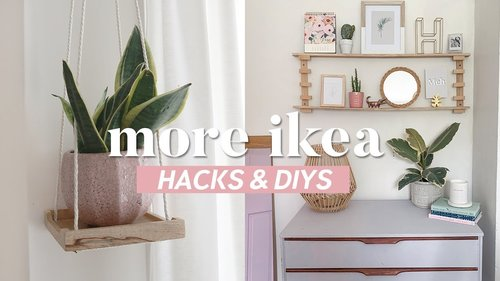 More IKEA Hacks and DIYs | Easy and Inexpensive Room Decor Ideas 2019 - YouTube