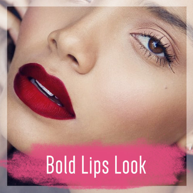 #06 Bold Lips Look