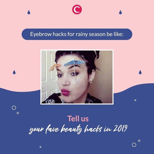 Musim hujan memang tricky☔️ Terlebih kalau pakai make up yang nggak waterproof dan kehujanan, alhasil luntur dan repot deh, Clozetters!.Untuk menghindari itu, apa sih make up hacks ala kamu di musim hujan ini? Share yuk, di kolom komentar! #ClozetteID