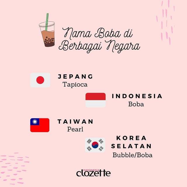 Kalau di Indonesia ada sebutan Boba Queen, kalau di Jepang, sebutannya jadi Tapioca Queen, ya? 😆Mention temen kamu yang sering dinobatkan sebagai Tapioca Queen, yuk!.#ClozetteID #ClozetteXCoolJapan #ClozetteIDCoolJapan #Boba #BubbleTea