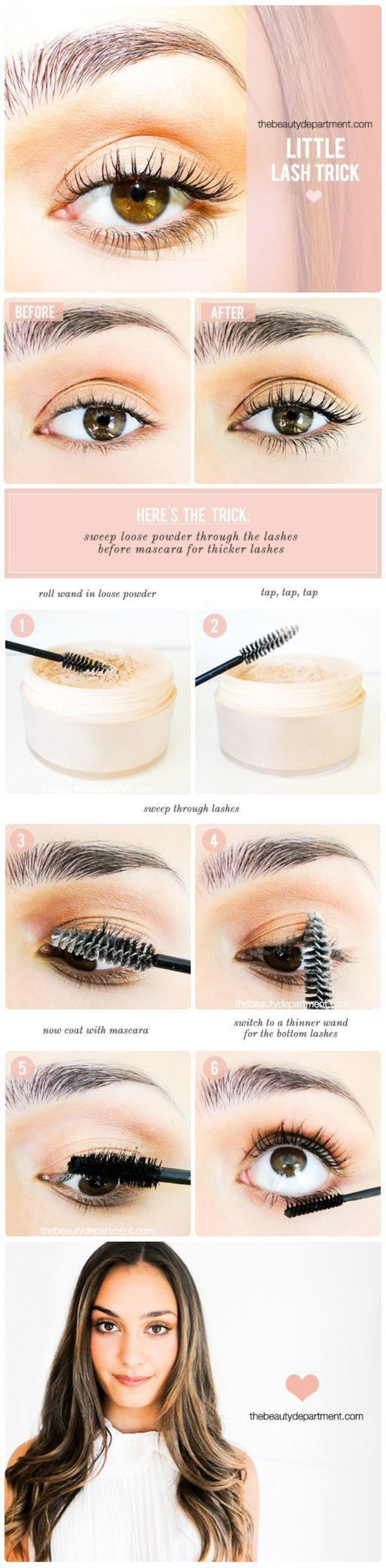 Little trick for lashes