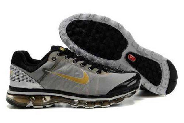 0845154ae06b Men s Nike Air Max 2009 Shoes Grey Black Silver Gold JPXMQM