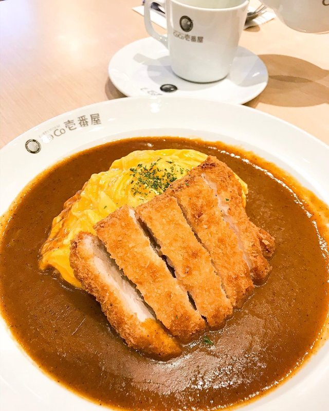 Curry Monstah... chicken katsu with omelette curry #curry #japanesecurry #chickenkatsu #currychicken #delicious #food #foods #foodie #instagram #instafood #foodblogger #clozetteid